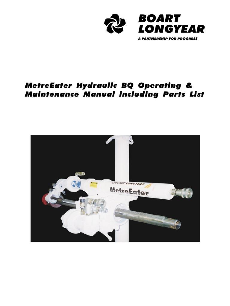 Boart Longyear: Metreeater Hydraulic Bq Operating