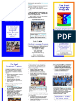 Dual Language Brochure Farmdale