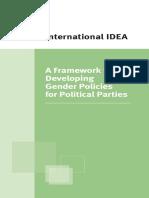 Framework for Developing Gender Politics