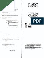 Platão - Teeteto _ Cratilo.pdf
