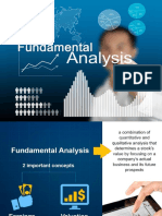 Fundamental Analysis by COL FInancial