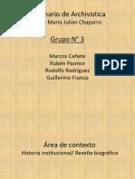 Presentación Archivística - Grupo 3.pptx