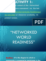 Lesson 1 Network Readiness