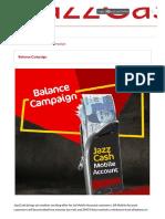 Mobile Bank Account