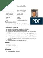 Curriculum Vitae Juanor