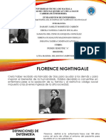 Florence Nightingale Diapositivas