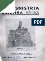 Transnistria Crestina anul I, nr. 3-4, iulie-decembrie 1942