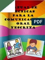 Manual de Tecnicas Para La Comunicacion Oral y Escrita