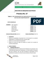 LABORATORIO 27