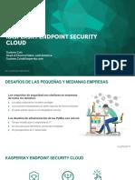 KES Cloud 2017 Presentation to Partners Webinar