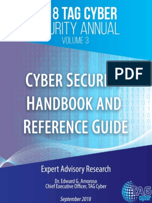 2018 TAG Cyber Security Annual Volume 3 Cyber Security