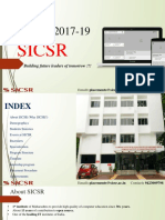 SICSR MBA-IT 1719 Presentation