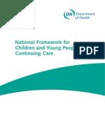 National Framework for Continuing Care England
