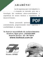 Manual Omega 7025