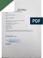 Proposal Perawatan Sistem Pendingin Moto