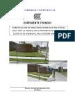 Expediente Tecnico - Memoria Descriptiva