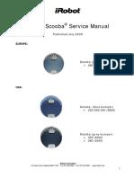 IRobot Scooba Service Manual