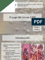 Astete, A. Zuñiga, S. (2018) El Auge Del Oro en 1700