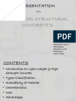 Advanced Structural Concrete