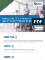 Formación de Auditores Internos en Un SIG