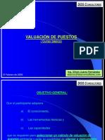 VALUACIÓN DE PUESTOS