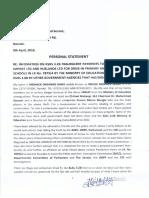 Meshack Onyango's Personal Statement on Sh 3.2 Billion #RuarakaLandScam Scandal