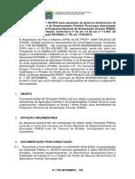 Edital Da Chamada Publica