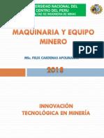 Innovación Tecnológica en Minería