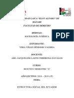 Estructura Social Del Ecuador