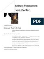H BM Exam Doctor