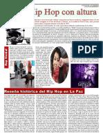 Reportaje Hip Hop la paz bolivia
