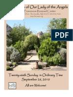 The Casa Bulletin - September 26, 2010