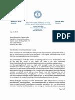 Secretary Meier Letter in Response - July 18 2018