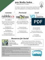 Open Media Index