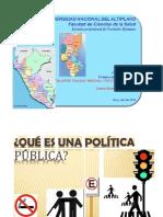 1 Política Pública
