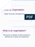 Internal Organisation v3