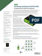 Datasheet RX-series RX-HDX (en) 446277