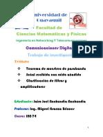 Trabajo de Investigacion Comunicaciones Digitales