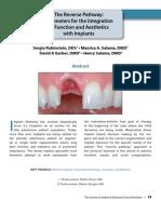 Aesthetics of Implants