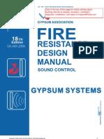 2006 Fire Resistance Design ManualGA-600