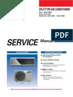 Manual de Servicio Samsung AQV12VBE