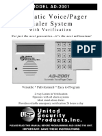 USAD2001 Manual