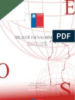 Atlas faenas mineras región de Coquimbo