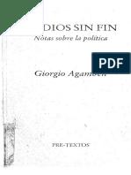 Giorgio Agamben - Medios Sin Fin