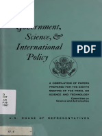Governments Science Plan 1967