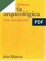 JOHNSON, M. Teoría Arqueológica - una introduccíon..pdf