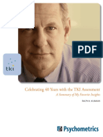 Celebrating 40 Years With the TKI Assessment