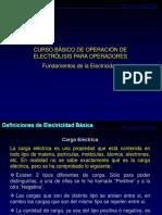 Curso Electrólisis Operadores Parte II (Fundamentos Electricidad)