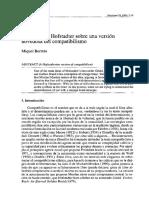 El Influjo de Hofstadter Sobre Una Versión