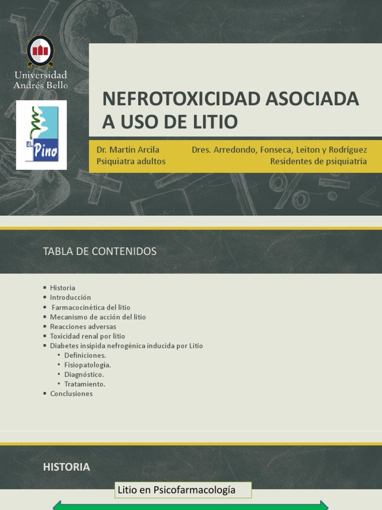 tratamiento de diabetes insípida nefrogénica amilorida